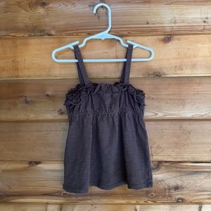 Old Navy Ruffle Strap Top (Size XS/5)